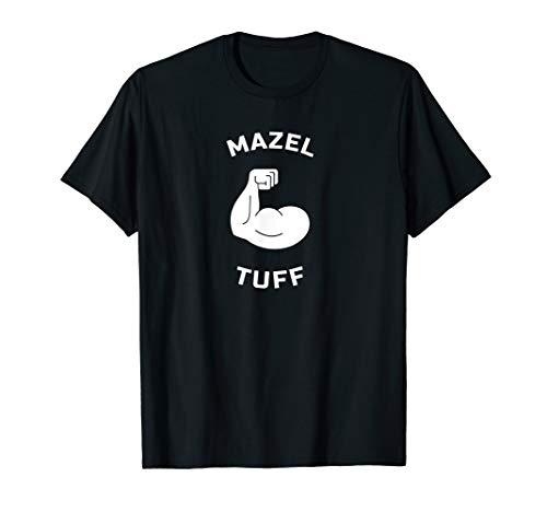 Mazel Tuff Strong Jew Funny Jewish WorkOut Gym Hanukkah Gift T-Shirt