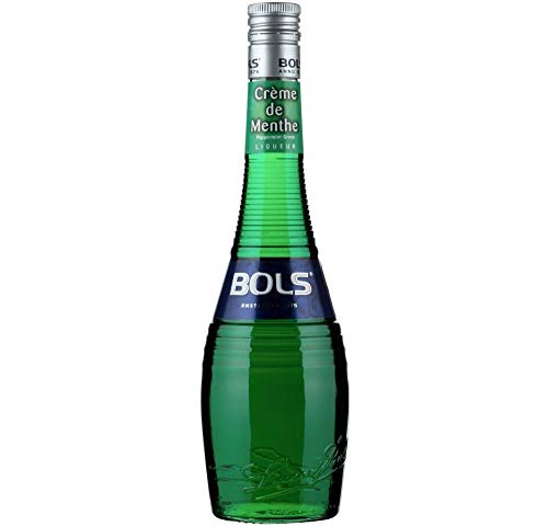 BOLS Peppermint Green Liqueur 24% Vol. 0,7L - 3 Paquetes de 700 ml - Total: 2100 ml