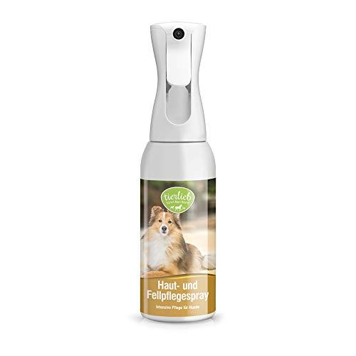 Sanct Bernhard tierlieb Haut- und Fellpflegespray für Hunde, ohne Silikon, angenehm frischer Duft, Inhalt 500 ml