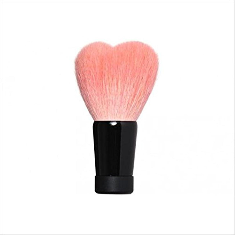 潜むメドレー対処する喜筆:ハート洗顔ブラシ大ピンク W1-HPN4K Y102028