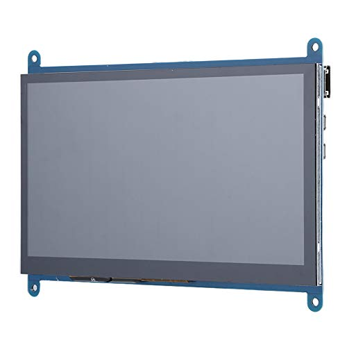 7-Zoll-Bildschirm für Raspberry Pi, HD 1024 x 600 Auflösung 178 ° Full Viewing Angle Monitor-Display mit Touching-Funktion
