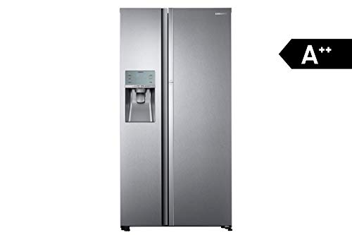 Samsung RH5FK6698SL/EG Kühl-Gefrier-Kombination (Gefrierteil links) / A++ / 182,5 cm / 361 kWh/Jahr / 395 L Kühlteil / 180 L Gefrierteil / FoodShowcase / Eis- und Wasserspender