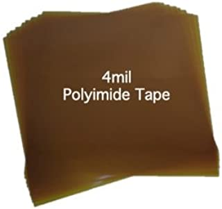 4mil Extra Thick Kapton Polyimide [5-Pack]. 7
