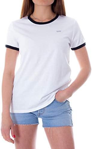 Perf Non-Graphic Ringer W Camiseta
