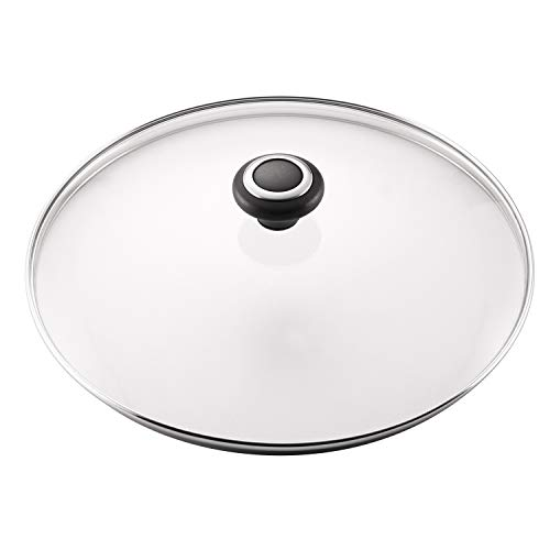Farberware Accessories Glass Replacement Lid for Pots and Saucepans, 12 Inch, Clear