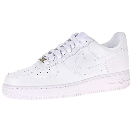 Nike Damen WMNS AIR FORCE 1 '07 Sneakers, Weiß (white/white), 40 EU