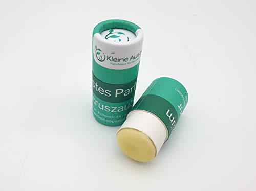 Festes Parfum Zitruszauber in der plastikfreien Papphülse – vegan, ohne Palmöl, von kleine Auszeit Manufaktur