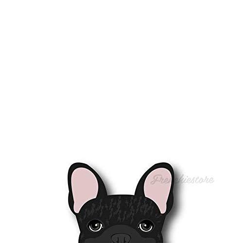 Frenchiestore Frenchie Sticker Black Brindle French Bulldog Car Decal (Frenchie Sticker Black Brindle French Bulldog Car Decal)