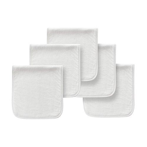 """21""""x10 Baby Spucktücher Triple Layer Dick Weiche, saugfähige Spucktücher für Neugeborene Baby (Color : White)"""