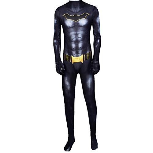 Disfraz De Batman Bruce Wayne Disfraz De Cosplay Disfraz De SuperhéRoe De Batalla Hombres NiñOs Halloween Navidad Mascarada Ropa