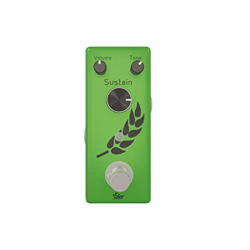 iSET Analog FUZZ Pedal for Electric Guitar Bass True Bypass