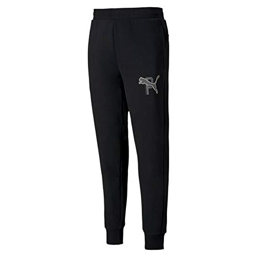 PUMA Athletics Pants Fl Cl Joggers & Tracksuits Men Black - M - Tracksuit Bottoms Pants