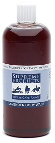 Supreme Products Lavender Body Wash Shampoo 500ml Purple