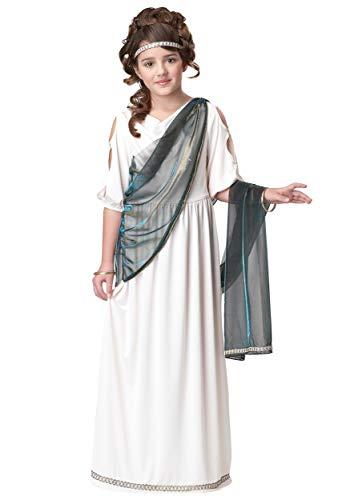 Girls Roman Princess Costume Medium