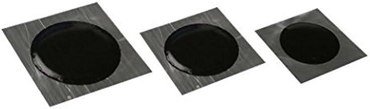 57 mm Parche de reparaci/ón de neum/áticos radiales y bies Harzole OV-1033100 color negro 100 unidades OV-1033100 redondo