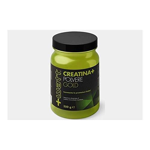 +Watt 14054 Creatina+ Gold Integratore alimentare di creatina monoidrato Polvere, 350 gr