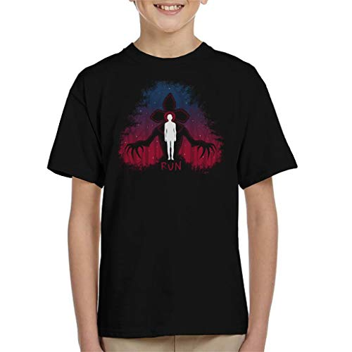 Stranger Things Demogorgon Run Kid's T-shirt