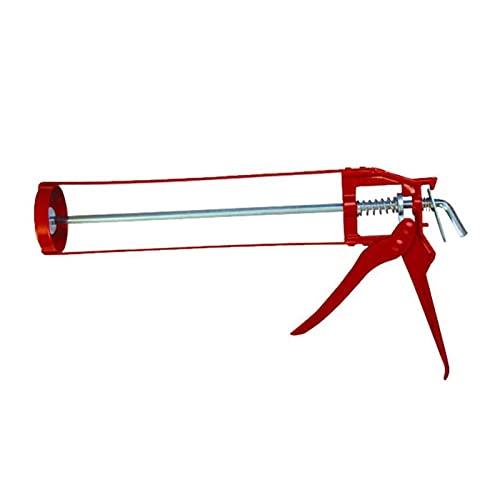 Pistola de calafateo mecánico Nuevas herramientas de vidrio Ahorre presión Pegamento industrial Pegamento Cartucho Sellador de cartucho 360 Grados