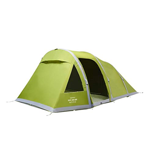 Vango Skye II Air 500 Tent - 5 Person AirBeam® Opblaasbare Familie Tent 2020 (Herbal)