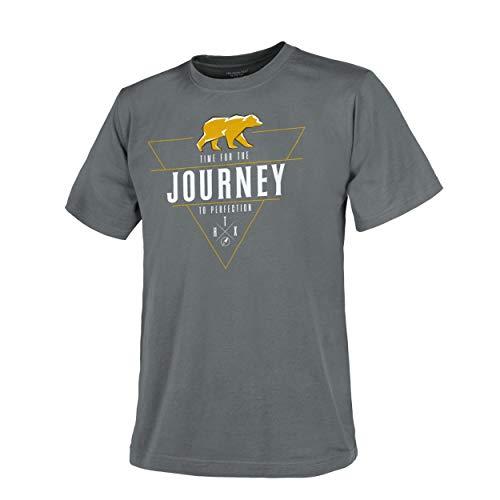 Helikon-Tex T-Shirt (Journey to Perfection) - Shadow Grey