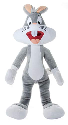 Looney Tunes K11604 - Peluche a forma di coniglietto, colore: Grigio