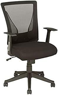Brenton Studio Radley Mesh Mid-Back Task Chair, Black