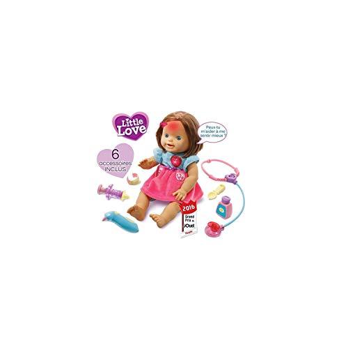 VTech poupée Little Love- Ma poupée à soigner, 179505 - Version FR