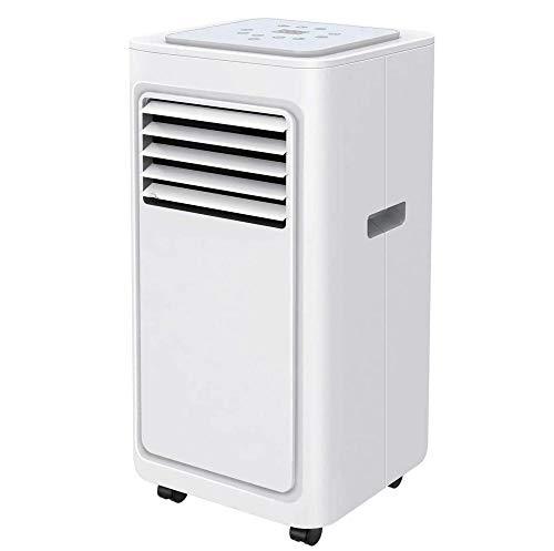 buyaolain Kaltlüfter Luftkühler für tragbare Raumklimaanlage 5000 BTU 4-in-1-Klimaanlage mit Luftkühler Luftentfeuchter Lüfter & Schlafmodus 24H Timer Fernbedienung LED-Anzeige R290