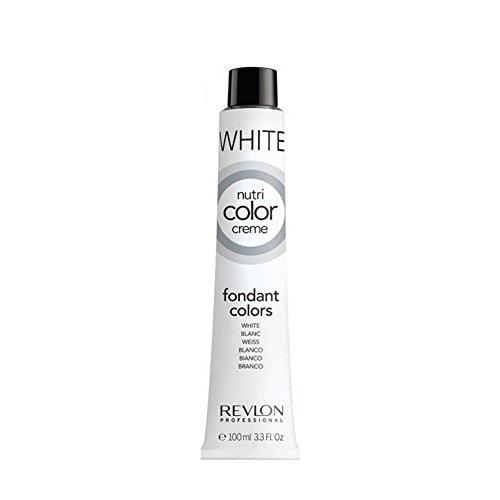 REVLON PROFESSIONAL Nutri Color Cream, Nr.000 White, 1er Pack (1 x 100 ml)