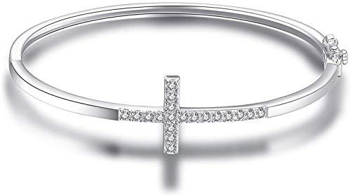 necklace Ladies fashion Bracelet cross bracelet of cubic zirconia 925 Silver Hoisting