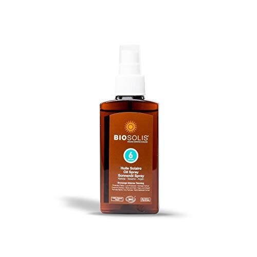 Biosolis Huile Solaire SPF6 125 ml