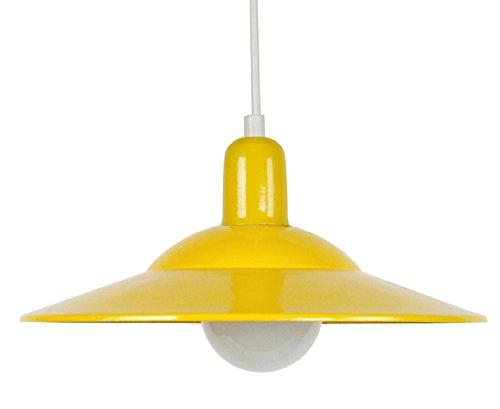 Lámpara de techo amarilla - Material, chapa de acero, 30x 30x 80cm, 2 piezas, color amarillo