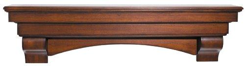 Pearl Mantels 495-60-70 The Auburn Mantel Shelf, 60
