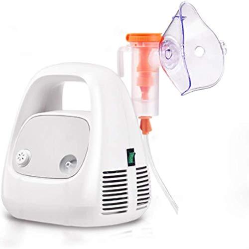 Gezonde Familyportable Atomizer Compact Compressor System Vaporizer Mist Inhaler Machine met masker en het mondstuk voor kinderen en volwassenen Home Use