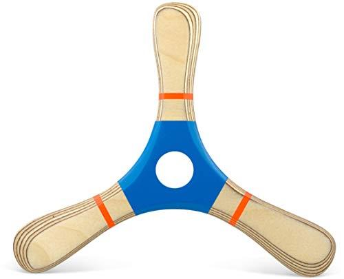 Bumerang PROPELL 4 himmelbalu, Holz, Rechtshänder, für Anfänger und Fortgeschrittene, Holzspielzeug