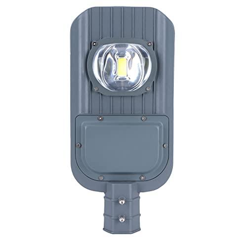 50W LED Street Light Outdoor IP66 Lámpara de carretera impermeable Antióxido Lámpara de poste de calle de seguridad Luz de carretera segura para el proyecto municipal de la carretera comunitaria 165‑2
