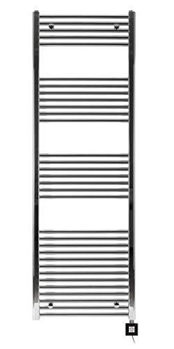 Radiateur électrique sèche Serviette chromé 1775 x 500-1000W