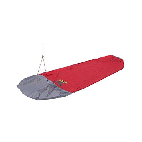 SALEWA Biwaksack PTX Biwi Bag 1-Person, Red/Anthracite, 28.4 x 17.2 x 6.4 cm, 00-0000001871