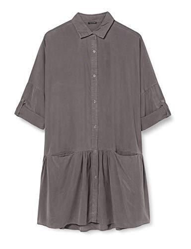 True Religion Damen Dress Kleid, Grau (Castle Rock 2010), 42 (Herstellergröße: XL)