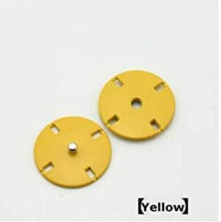 10 Sets Metal Cross Sew on Press Studs Snap Fasteners Secret Button for Clothing