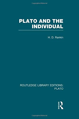 Plato and the Individual (RLE: Plato) (Routledge Library Editions: Plato)