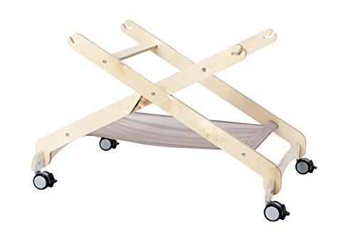 LooL Stand Rollwagen für Babywiege LooL 0-6 Monate bis 15 kg