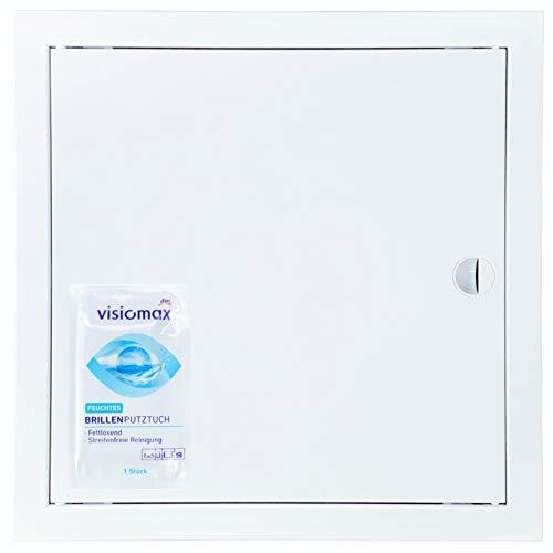Revisionsklappe Wartungsklappe Trockenbau RK 350x350 (35x35) Viele Größen Revisionstür ABS Kunstoff Sicherungskasten Tür Wäscheschacht Klappe Revi Tür