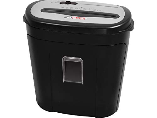 InfoGuard 14-Sheet Cross-Cut Paper Shredder with Pullout Bin