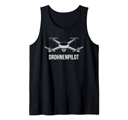 Drohnenpilot für Drone Quadrocopter FPV Racing Pilot Tank Top