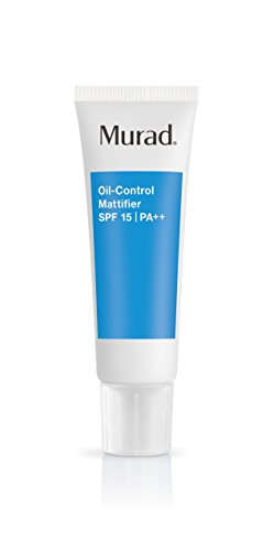 Murad Oil-Control Mattifier with SPF 15 PA++ - (1.7 fl oz), Provides a Long Lasting Matte Finish, Reduces Shine and Can Control Oil for Up To 8 Hours, Regulating Oil Production and Preserving Moisture