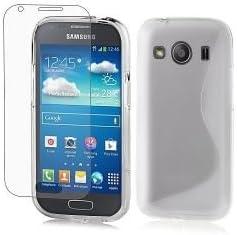 HQ-CLOUD Coque en Gel Silicone S-Line S-Ligne pour Samsung Galaxy Ace 4 LTE SM-G357FZ - Transparent
