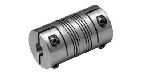 Lovejoy ADB6 68514476849 Double Beam Coupling, Aluminum, Inch, 1/2' Bore A Diameter, 5/8' Bore B Diameter, 1.252' OD, 2.252' Overall Coupling Length, 38 lb-in Nominal Torque, No Keyway, 10000 Max RPM