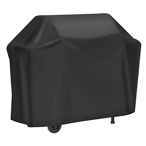 BAILR BBQ Grill Cover, Gas Grill Cover, Waterproof Heavy Duty Durable, Made of 420D Heavy Duty Oxford Fabric, Anti-UV, for All Weathers