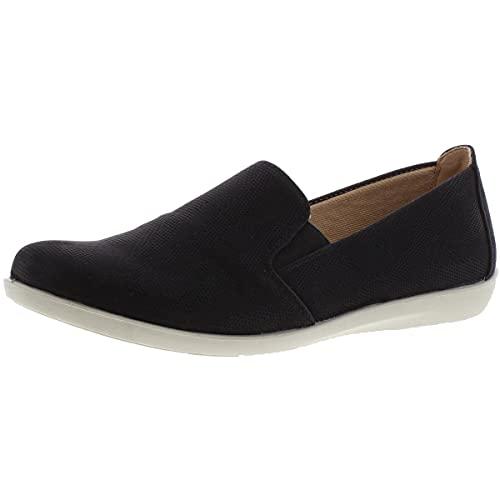 LifeStride womens Neon Loafer, Black, 10 Narrow US